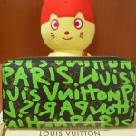 ☆★LVヴィトン グラフィティ ジッピーウォレットM93712(ヴェール)2009年限定!販売しております!!☆★