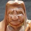 達磨木彫り