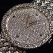 ピアジェ 750WG無垢 ダイヤ サファイア 手巻き時計