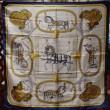 エルメス カレ90 シルクスカーフ 『グランドアパート 盛装の馬』