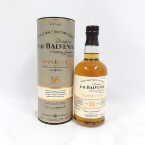 バルヴェニ― スコッチ 16年 トリプルカスク 200ml