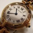 カルティエ 750YG無垢 パンテールヴァンドーム レディース時計 W25024B9
