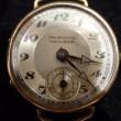 ルーカス 18K スモールセコンド 15石 手巻時計