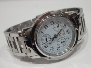 エルメス クリッパー クロノ時計 CL1.910