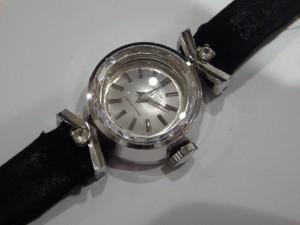 セイコー K14WG ダイヤショック21石 手巻時計 10-0110