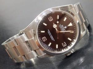 ロレックス エクスプローラーI 114270D番(2005)
