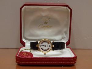カルティエ トリニティ マスト ヴェルメイユ レディース時計 (1)