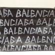 バレンシアガ グラフィティ キャリー クリップM クラッチバッグ 535532