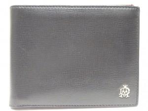 ダンヒル ボードン ベルグレイブレザー 2つ折り財布 L2S832A