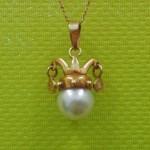 佐賀 K18 パール と ダイヤ付き ペンダントネックレス 買取りしました! 佐賀市 唐津市 鳥栖市 神埼 多方面からの御来店ありがとうございます!